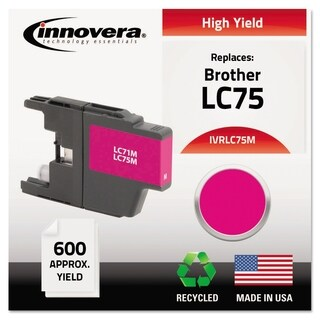 Innovera Remanufactured LC75 High-Yield Ink (4 options available)