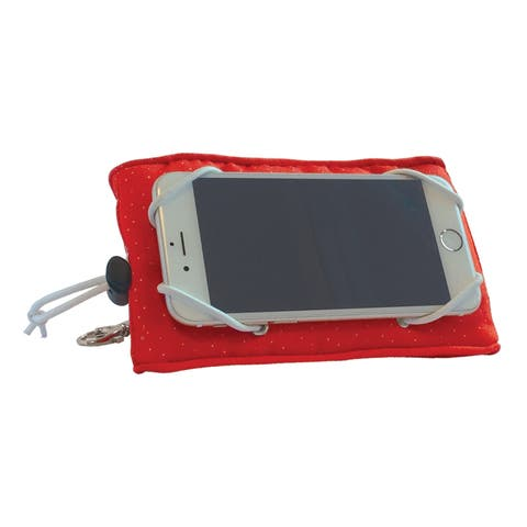 Manhattan Toy Adjustable Phone Wedge Cell Phone Holder - Red