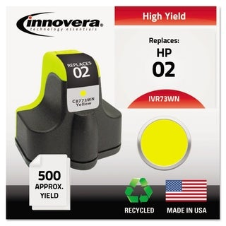 Link to Innovera Remanufactured C8773WN (02) Ink, Yellow Similar Items in Printers & Supplies