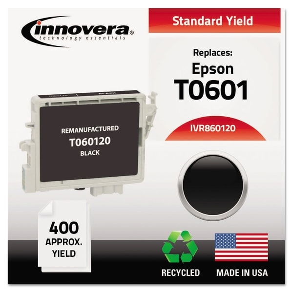 Innovera Remanufactured T060120 (60) Ink, Black. Opens flyout.