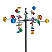 OS Home and Office Furniture Model 622225 Whirligig Multi-Directional  Wind Spinner