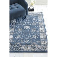 "Westfield Home Luanda Omari Midnight Blue Area Rug - 7'10"" x 10'6"""