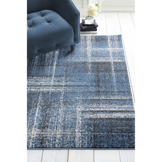 Westfield Home Luanda Kali Midnight Blue Accent Rug - 2'7 x 4'2