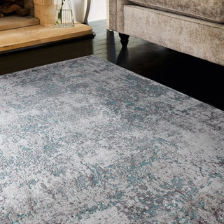 Copper Grove Ladyzhyn Turquoise Runner Rug - 2'7 x 8' - 2'7 x 8'
