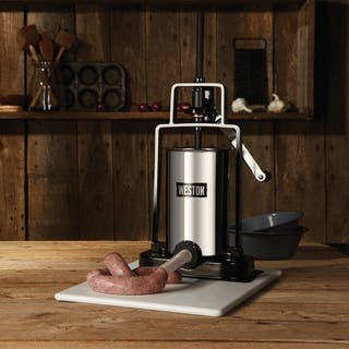 Weston 5 lb Capacity Vertical Sausage Stuffer - 5 Lb
