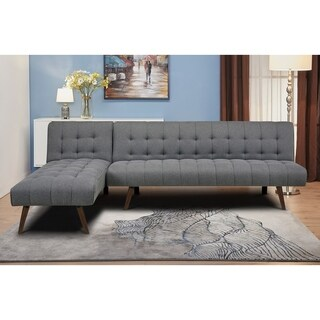 Shelton Stone Convertible Sectional Sofa Bed