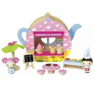 Adora Teapot Café Wooden Playset