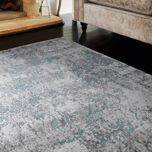 Copper Grove Ladyzhyn Turquoise Oversize Area Rug - 12'6 x 15'8 - 12'6 x 15'8