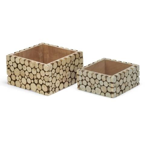 Empress Wood Slice Riser Storage