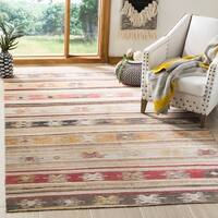 Safavieh Montage Bohemian & Eclectic Taupe / Multi Rug - 3' x 5'