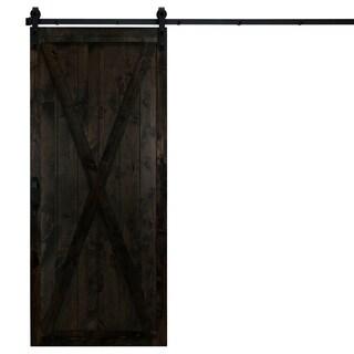 "Classic X Sliding Barn Door With Hardware (36"" x 84"")"