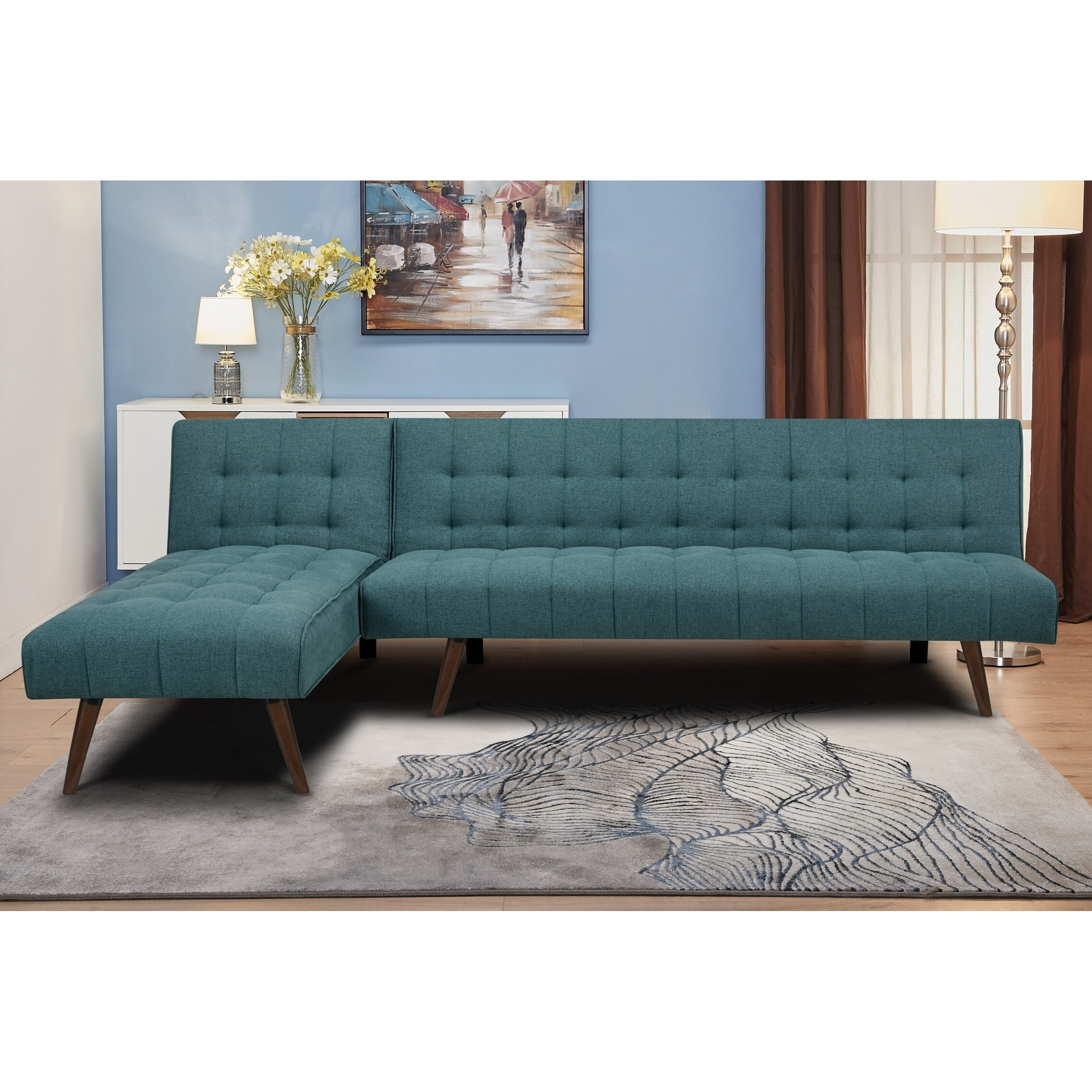 Admirable Shelton Marine Convertible Sectional Sofa Bed Evergreenethics Interior Chair Design Evergreenethicsorg