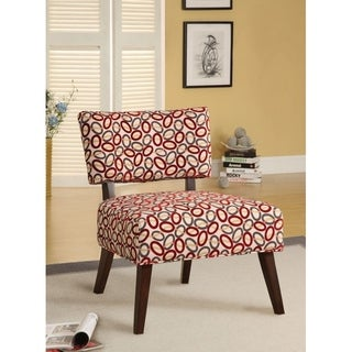 Able Accent Chair In Printed Fabric