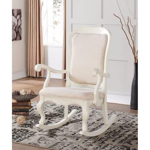 Sharan Rocking Chair, White
