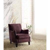 Sinai Modish Accent Chair, Purple