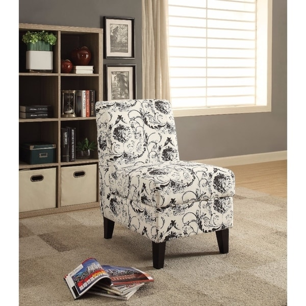 Shop Ollano Ii Accent Chair With Storage Pattern Fabric