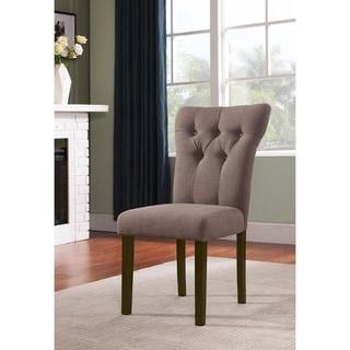 Effie Side Chair, Light Brown, Set of 2