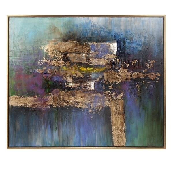 Elegant Contemplation Framed Oil Painting