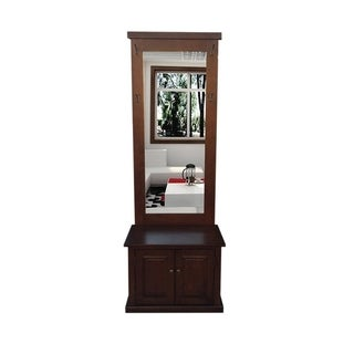 Offex Solid Kiln Dried Mahogany Raleigh Entry Hall Way Cabinet