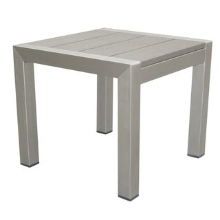 Highly Functional Easy-Movable Outdoor Side Table, Gray