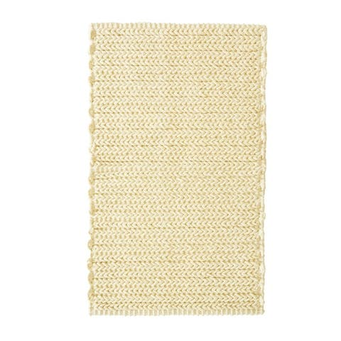 Madison Park Copula Dyed Cotton Chenille Chain Stitch Rug