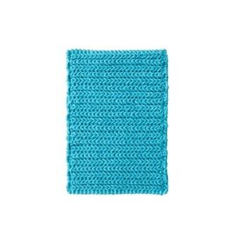 Madison Park Copula Yarn Dyed Cotton Chenille Chain Stitch Rug