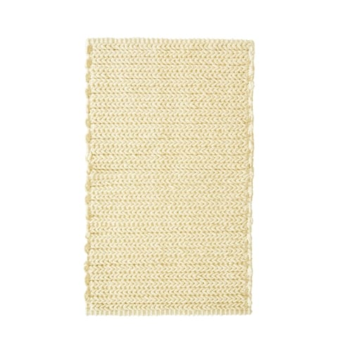 Madison Park Copula Dyed Cotton Chenille Chain Stitch Rug