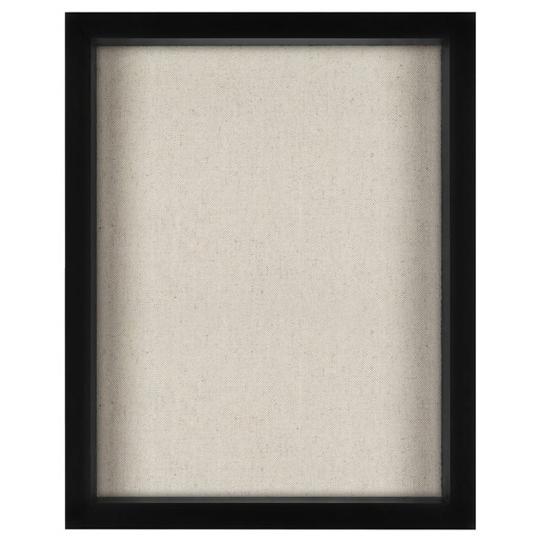 Shop 11x14 Inch Shadow Box Frame With Soft Linen Back Perfect To