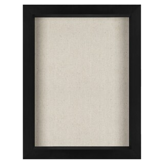 8.5x11 Inch Document Shadow Box Frame with Soft Linen Back