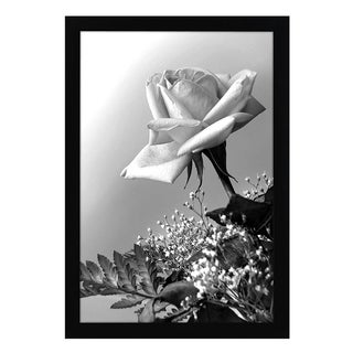 12x18 Black Poster Frame with Plexiglass Front By Americanflat