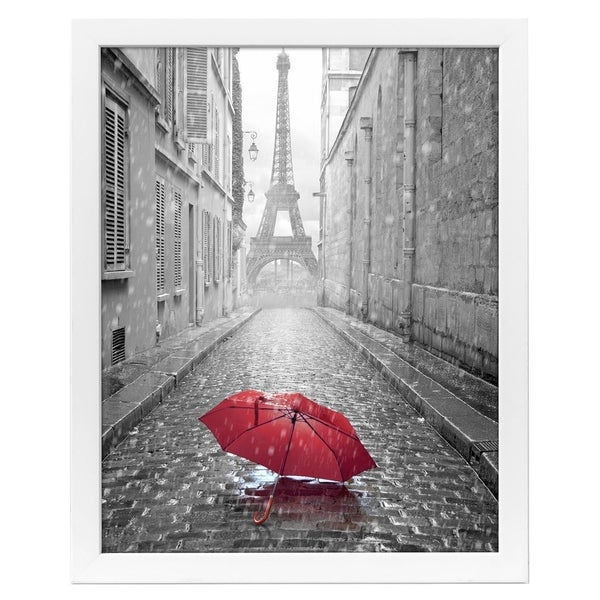 Shop 18x24 White Poster Frame with Plexiglass Front By Americanflat ...