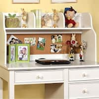 Omnus Tranisitional Style Hutch , White