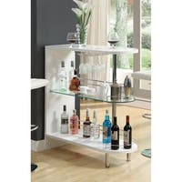 Beautiful Contemporary Bar Table, White