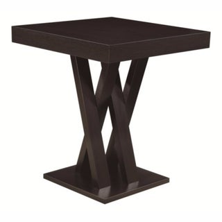 Contemporary Style Wooden Bar Table, Brown