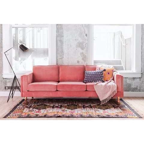 Buy Pink, Solid, Mid-Century Modern Sofas & Couches Online ...