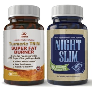 Turmeric Trim and Night Slim Combo pack