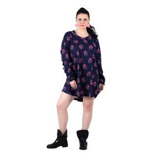 Qurvii Navy Floral Jersey (3 options available)
