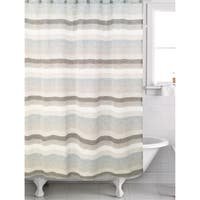 Horizon Blue shower curtain