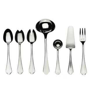 Stainless Steel 7-piece Dolce Vita Full Serving Set