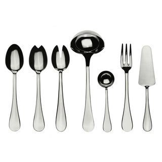 Mepra Stainless Steel 7-piece Brescia Full Serving Set