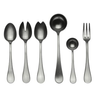 Stainless Steel 7-piece Vintage Full Serving Set