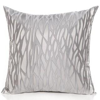 BarkSilver 20 x 20 Accent Pillow