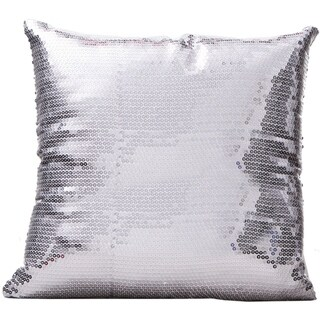 Bling Silver 16 x 16 Accent Pillow