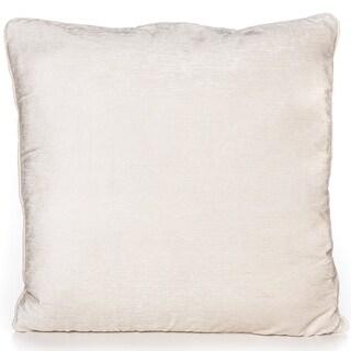Chenille Cream 20 x 20 Accent Pillow