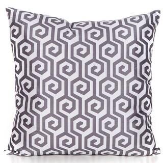 Maze Charcoal Grey 20 x 20 Accent Pillow
