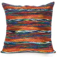Rainbow Orange 18 X 18 Accent Pillow