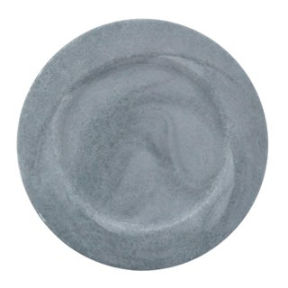 Galvanized Finish Hand Distressed Metal Charger Plate - set of 4 pcs