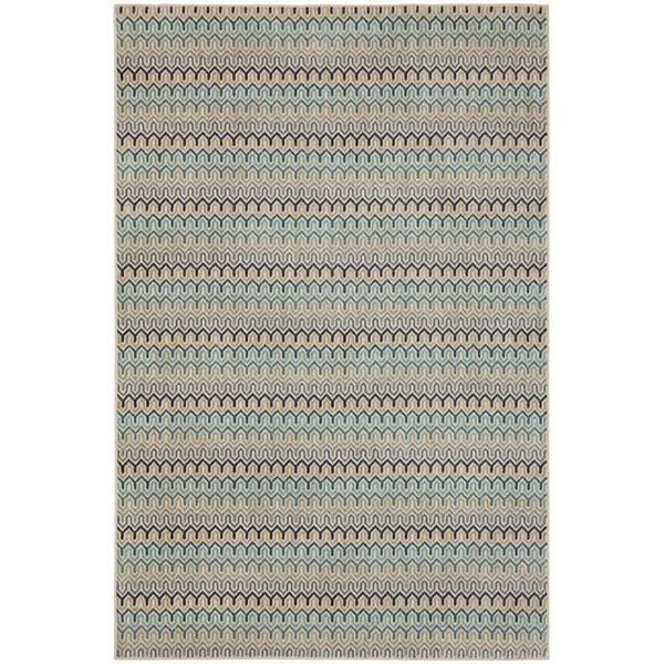 8 X 11 Area Rugs On Sale: Shop Mohawk Home Savannah Seabridge Beige/Multicolor Area