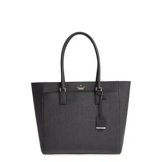Kate Spade Cameron Street Havana Black/Black/Cream Tote Bag