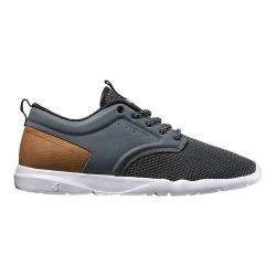 Men's DVS Premier 2.0+ Sneaker Charcoal/Brown Textile